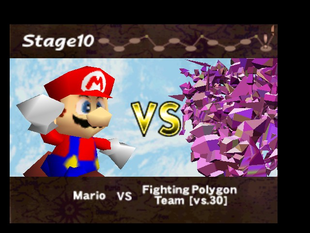 Super Smash Bros. - Battle  - Mario fights the unown people. - User Screenshot