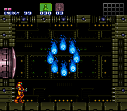 Super Metroid - Boss Rush Mode - ninetails used will-o-wisp - User Screenshot