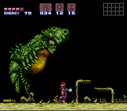 Super Metroid - Boss Rush Mode - okay! Not cute anymore!!!! - User Screenshot