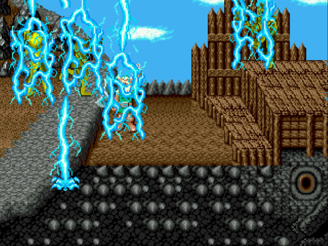 Golden Axe - Battle  - Using magic - User Screenshot