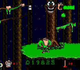 Boogerman - A Pick and Flick Adventure - Level Level 1 - That Tree Just Creeps Me Out - User Screenshot