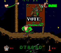 Boogerman - A Pick and Flick Adventure - Level Level 3 - Classic Propaganda - User Screenshot