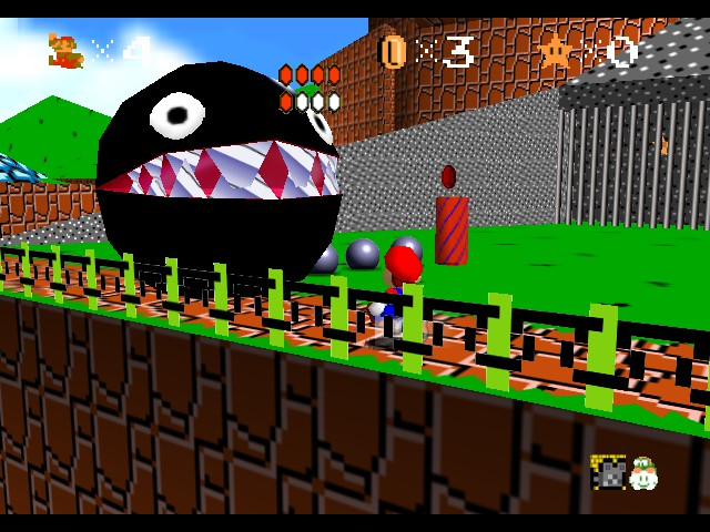 Play super mario 64 retro graphics online n64 rom hack - Nintendo clipart ...