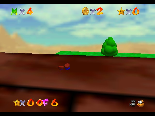 Super Mario 64 - The Missing Stars - Location  - LOL What