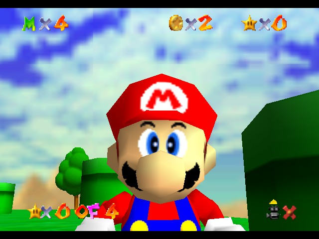 Super Mario 64 - The Missing Stars - Misc I dunno - What are YOU lookin