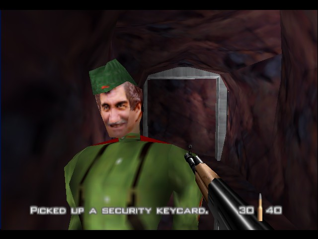 GoldenEye 007 - thank you sir...dB hes dead - User Screenshot
