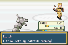 Pokemon Adventure - Red Chapter (beta 2.5) - Battle  - What kind of excuse is that? - User Screenshot