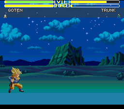 Dragon Ball Z - Ultime Menace - Level  - Goten charges the Kamekameha. - User Screenshot
