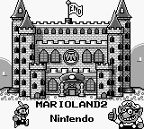 Super Mario Land 2 - 6 Golden Coins - Ending  - Now this is the castle of mario - User Screenshot