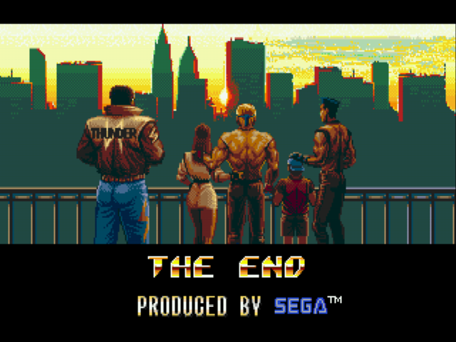 Streets of Rage 3 - Ending  -  - User Screenshot