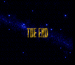 Startropics - Ending  -  - User Screenshot
