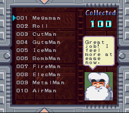 Rockman & Forte - Menus data base - i collected all CD - User Screenshot