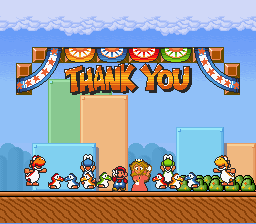 Super Mario Bros Deluxe - Ending  -  - User Screenshot