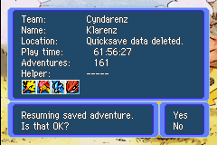 Pokemon Mystery Dungeon - Red Rescue Team - Character Profile legendaries - I beat legendaries? - User Screenshot