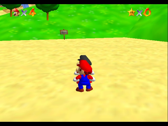 Super Mario 64 - Multiplayer -  - User Screenshot