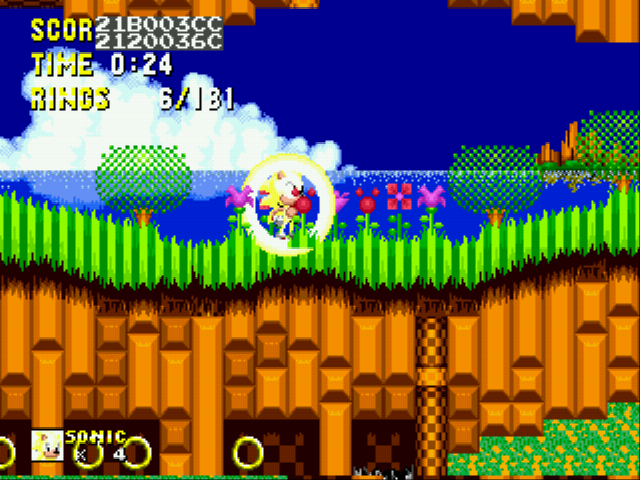 Sonic 2 Delta II - hi im super idioitic kid :D - User Screenshot
