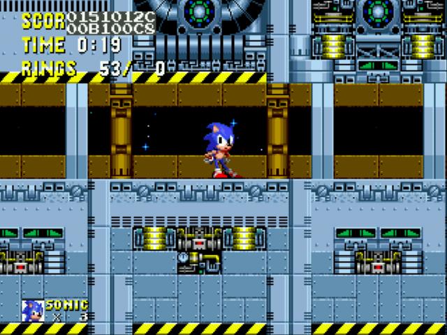 Sonic 2 Delta II - sonic: IM OUTA HERE s.i.k you got this - User Screenshot