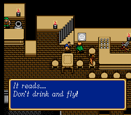Shining Force II - Location Bedoe - Yup, even birds - User Screenshot