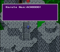 Final Fantasy II - Cut-Scene  - Monks sneeze quite a bit - User Screenshot