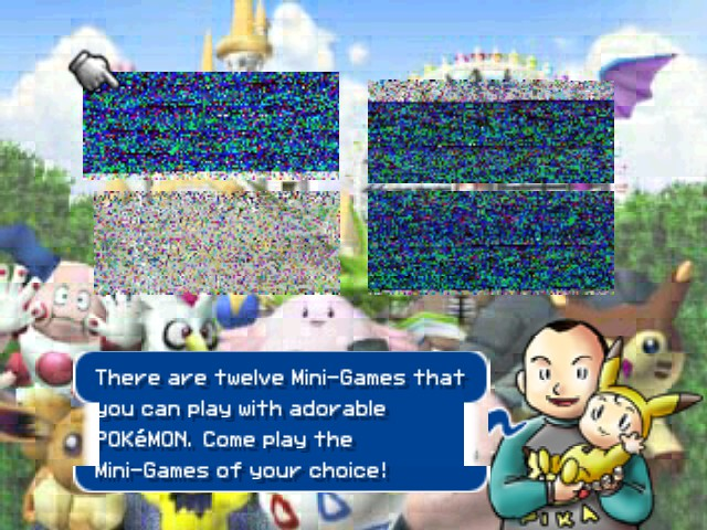 Pokemon Stadium 2 - Menus Game Select - Ummmm..... - User Screenshot
