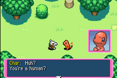 Pokemon Mystery Dungeon - Red Rescue Team - Introduction  - Uh, ya. Isnt it obvious?  *Rolls eyes* - User Screenshot