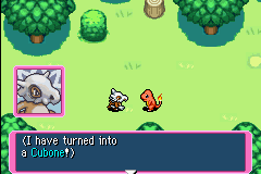 Pokemon Mystery Dungeon - Red Rescue Team - Introduction  - DUH! Whats your first clue? No boom or cloud? - User Screenshot