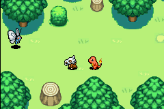 Pokemon Mystery Dungeon - Red Rescue Team - Introduction  - Oh, look, a butterfly! :3 - User Screenshot