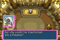 Pokemon Mystery Dungeon - Red Rescue Team - Cut-Scene  - How should I know? Isn