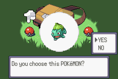 Pokemon Rebirth - Cut-Scene  - Bulbbaaaa....! ...Okay then, Bulbasaur - User Screenshot