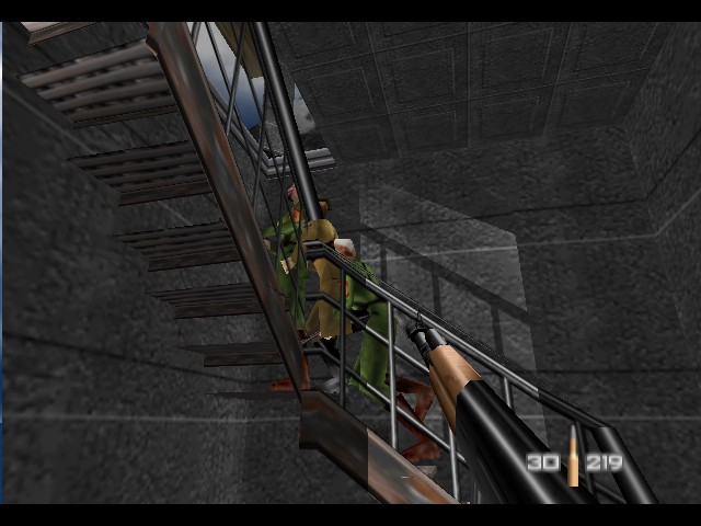 GoldenEye 007 - what is goin on in here? - User Screenshot