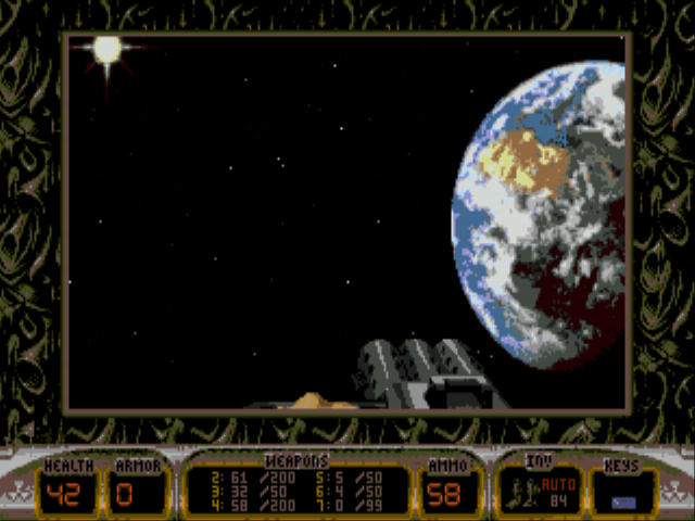 Duke Nukem 3D - Level  - what a sight - User Screenshot