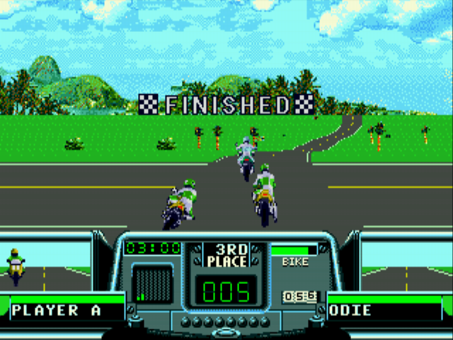 Road Rash 3 - Level  -  - User Screenshot
