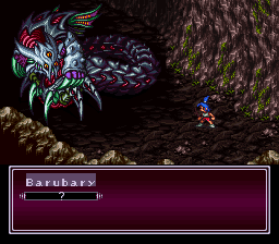 Breath of Fire II - Battle  - Fight with Barubary - User Screenshot