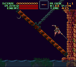 Super Castlevania IV - Level  - Let