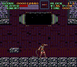 Super Castlevania IV - Level  -  - User Screenshot