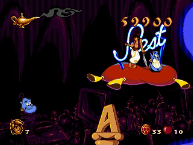 Скачать алладин игры на сеге