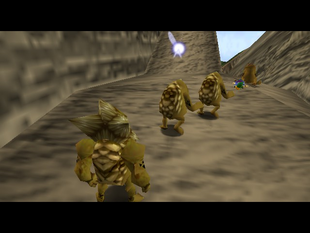 The Legend of Zelda - Ocarina of Time - Master Quest - Misc  - Gimme hug - User Screenshot