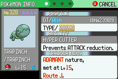 Pokemon Flora Sky - Complement Dex Version - Battle  - Shiny and Adamant :D - User Screenshot