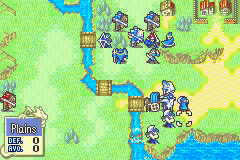 Fire Emblem - Fuuin no Tsurugi (english translation) - World Map Laus - Remember When Eliwood was here?? Goooood time - User Screenshot