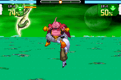 Dragon Ball Z - Supersonic Warriors - Battle  - Buu: Buu thinks that