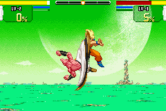 Dragon Ball Z - Supersonic Warriors - Battle  - I could AT LEAST put my arms down you a**h*** - User Screenshot