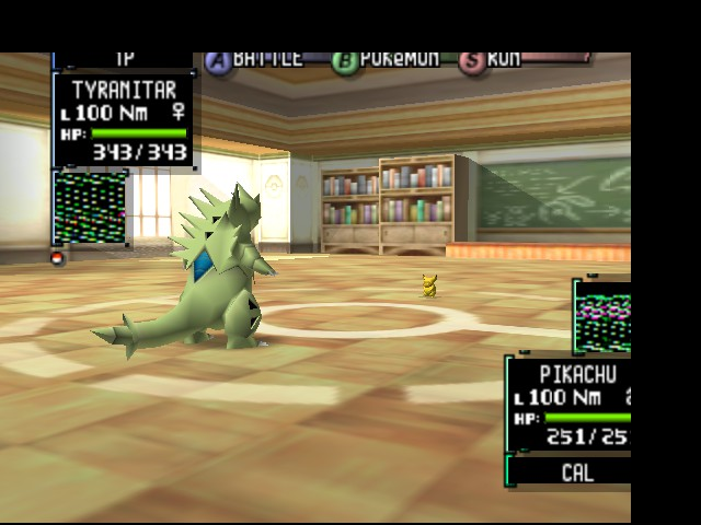 Pokemon Stadium 2 - Battle  - Please Pikachu! I mean no harm! Spare me!!! - User Screenshot