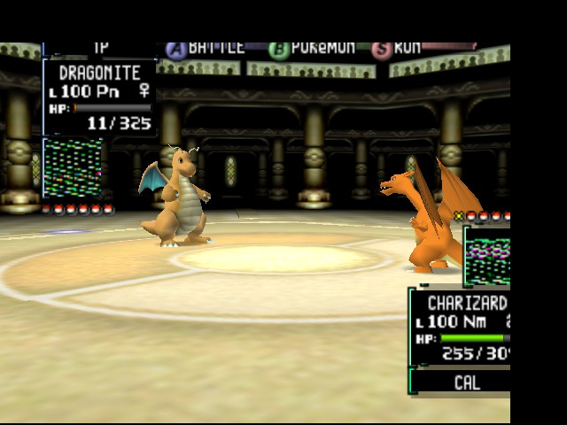 Pokemon Stadium 2 - Battle  - Why does this look familiar? - User Screenshot