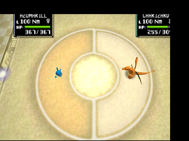Pokemon Stadium 2 - Battle  - Azumarill vs Charizard - User Screenshot