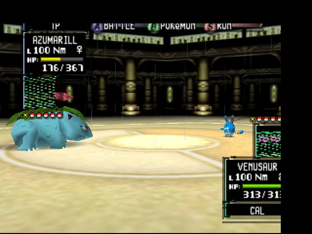 Pokemon Stadium 2 - Battle  - Venasuar? Aaaaand... I