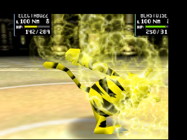 Pokemon Stadium 2 - Battle  - And her name is THUNDERPUNCH!!!! - User Screenshot