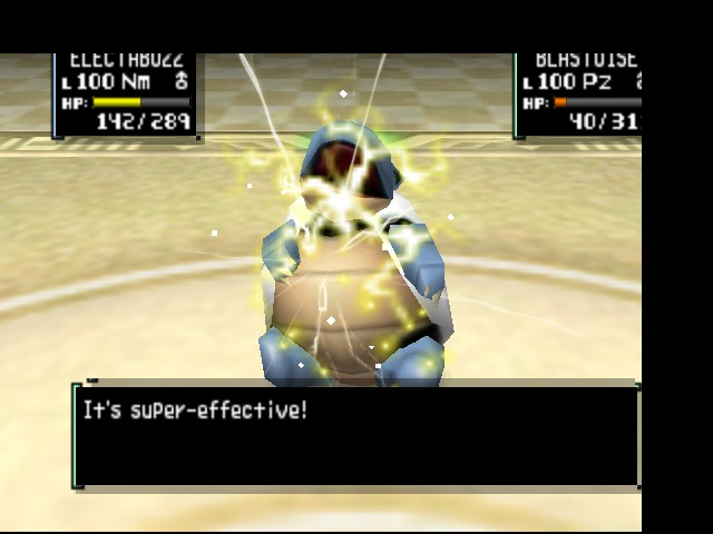 Pokemon Stadium 2 - Battle  - Son of a.!! - User Screenshot