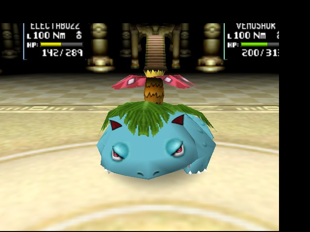Pokemon Stadium 2 - Battle  - I