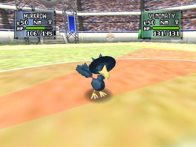 Pokemon Stadium 2 - Battle  - MURKROW WHERE ARE YOUR EYES - User Screenshot