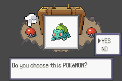 Pokemon Flora Sky - Complement Dex Version - Character Profile Starter. - Bulbasaur - User Screenshot